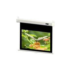 "Manual SRM Pro 100"" Diag. (49x87) Wall/Ceiling Projector Screen, Video Format, MaxWhiteFG Fabric"