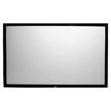 "Sable Frame Series 92"" Diag. (45x80 ) Fixed Frame Projector Screen, HDTV Format, CineWhite Fabric"