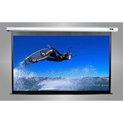 "Spectrum Series 100"" Diag.(60x80) Electric Projector Screen, Video Format, MaxWhite Fabric"