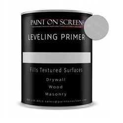 LEVELING PRIMER for any Un-Smooth Surfaces like Drywall, Wood, or Masonry - Gallon Paint on Screen,Projector Screen,Leveling Primer,Screen Paint
