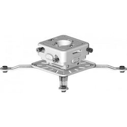 Mustang MPJ-3W Universal Projector Mount with Micro Adjustments - White