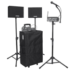 Complete Portable Sound System in Rolling Case with Headset Mic Amplivox,Sw230a40,Sw230a 40,Sw230a40,Sw230a-40,Sw230a 40,Sw230a40,Sw230a-40