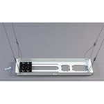 "Chief 8"" Ceiling Plate with one slot                        CURRENT PRICE ONLY"