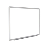 "120"" x 48"" DecoAurora Aluminum Frame Porcelain Magnetic Whiteboard - Gray Trim"