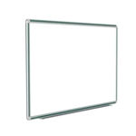 "120"" x 48"" DecoAurora Aluminum Frame Porcelain Magnetic Whiteboard - Hunter Green Trim"
