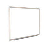 "120"" x 48"" DecoAurora Aluminum Frame Porcelain Magnetic Whiteboard - Light Maple Trim"