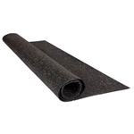 "Ghent 4X12 1/16"" Recycled Rubber Tack Roll - Confetti"