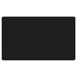 "Ghent 48"" x 12"" Fabric Tackboard w/ Wrapped Edge - Black"