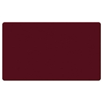 "Ghent 24"" x 18"" Fabric Tackboard w/ Wrapped Edge - Merlot"