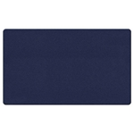 "Ghent 24"" x 18"" Fabric Tackboard w/ Wrapped Edge - Blue"