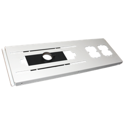 Mustang MV-FCPA-W Suspended ceiling plate; 8 IN
