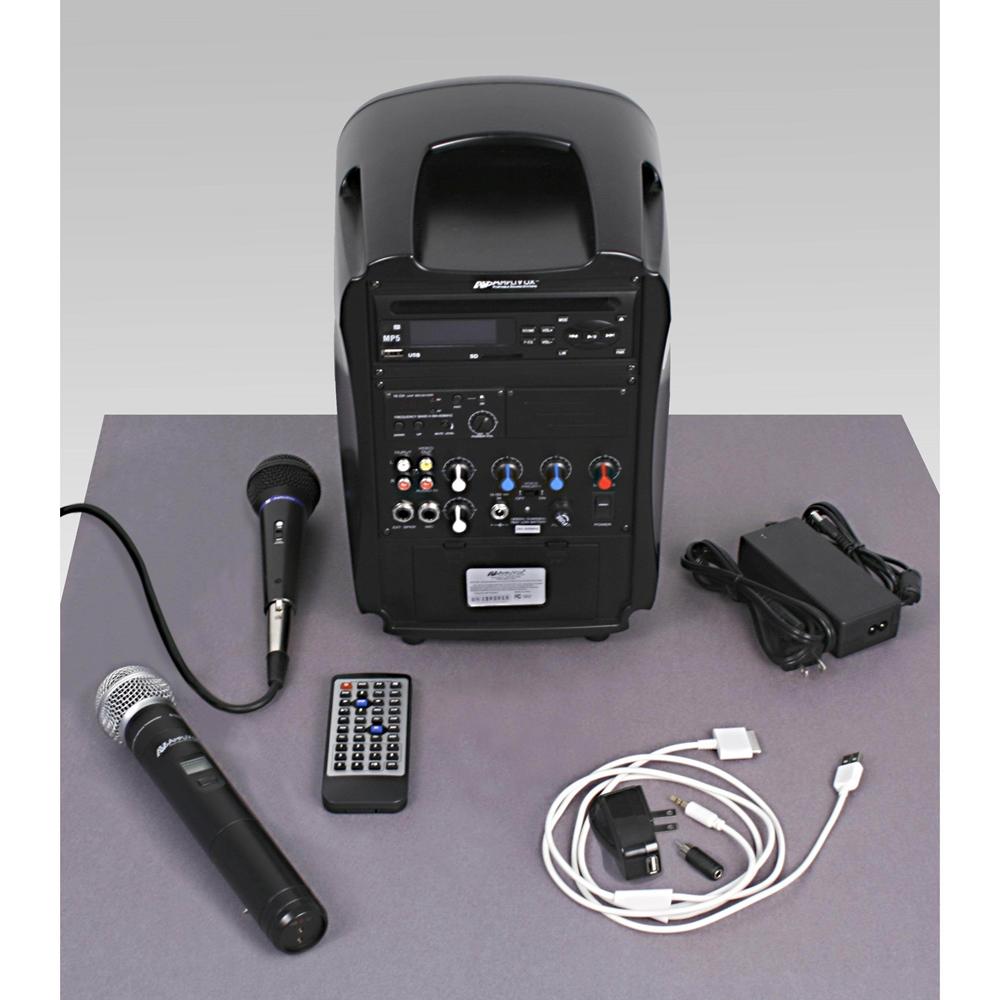 Amplivox SW720 SW720 - iPod Docking Wireless Portable PA System with ... bcacb300b8c13