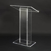 Amplivox Large Top Design Clear Acrylic Full Floor Lectern