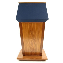 lectern and podium