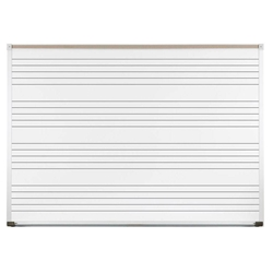 6'W x 4'H Porcelain Steel Graphic Magnetic Whiteboard with Aluminum Trim & Music Lines Best-Rite,202AGS1,202AG S1,202AGS1,202AG-S1,202AG S1,202AGS1,202AG-S1