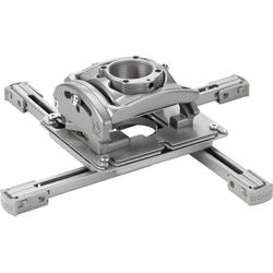 RPM Elite Universal Ceiling Projector Mount with Lock - Silver - RPMAUS