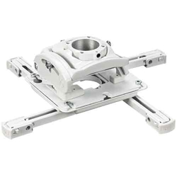 RPM Elite Universal Ceiling Projector Mount with Lock - White - RPMAUW