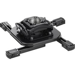 RSM Mini Elite Universal Ceiling Projector Mount with Lock - Black - RSMAU