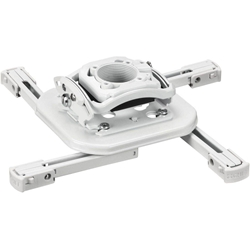 RSM Mini Elite Universal Ceiling Projector Mount with Lock - White - RSMAUW