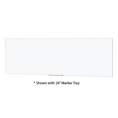 "Da-Lite 27964 Idea Panoramic Screen/Board Full Viewing Size (36x192) with 24"" Marker Tray"