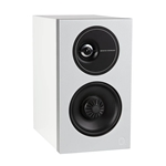 Definitive Technology D11 Demand Series Large High Performance Bookshelf Speakers - White