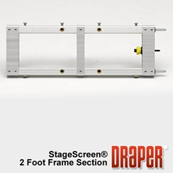 Draper StageScreen Modular Frame Sections