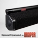 Draper 215017 Diplomat/R with Black Carpeted Case 71 diag. (43x57) - Video [4:3] - 1.0 Gain - Draper-215017