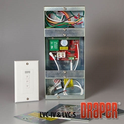 Draper Low Voltage Control with Switch