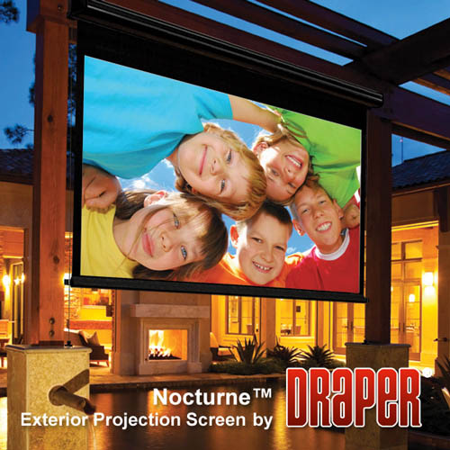 Draper Nocturne Electric Outdoor Projector Screen