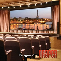 Draper Paragon Electric Tensioned Projector Screen