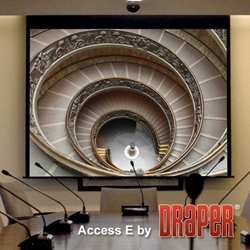 Draper Ultimate Access Electric Projector Screens