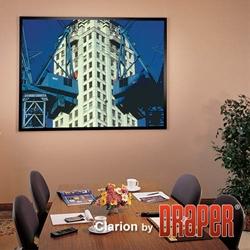 Draper ShadowBox Clarion Fixed Frame Projection Screen