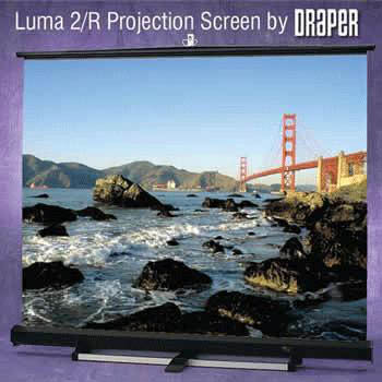 Draper Luma 2 Floor Rising Projector Screens