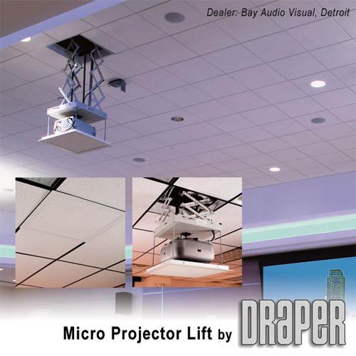 60ff58629bf341 Draper 300198 Micro Projector Lift 115V