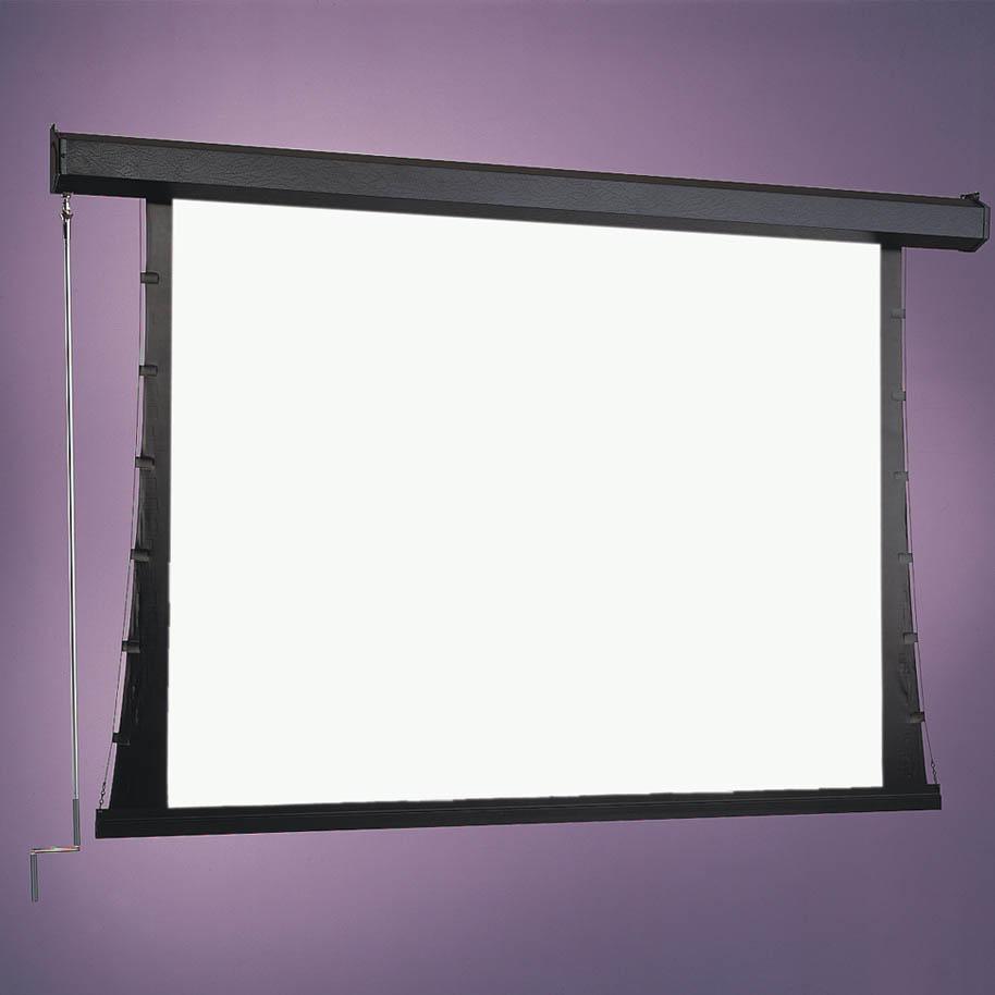 """Draper luma 207100 92"""" manual pulldown projector screen."""