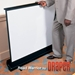Draper RoadWarrior 36x48 (60 Diag.) Floor Rising Projector Screen, Video Format, Contrast Grey Fabric - 230047