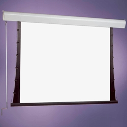 Draper Silhouette Manual Projector Screen