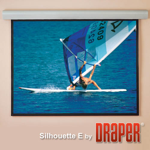Draper Silhouette Electric Projector Screen