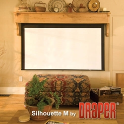 Draper Silhouette Manual AutoReturn Projector Screen