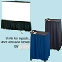 Draper Projector Screen Skirts