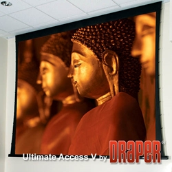 Draper Ultimate Access Electric Tensioned Projector Screens
