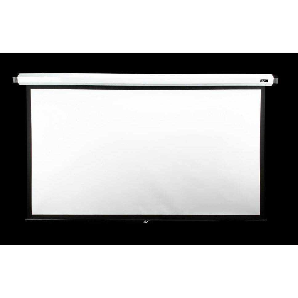 Elite screens home135iws2 135 electric projector screen for Elite motorized projector screen