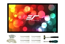 Elite Screens Elite ER150WH2 SableFrame 2 Series - 150 diag. (73.6x130.7) - HDTV [16:9] - CineWhite 1.1 Gain