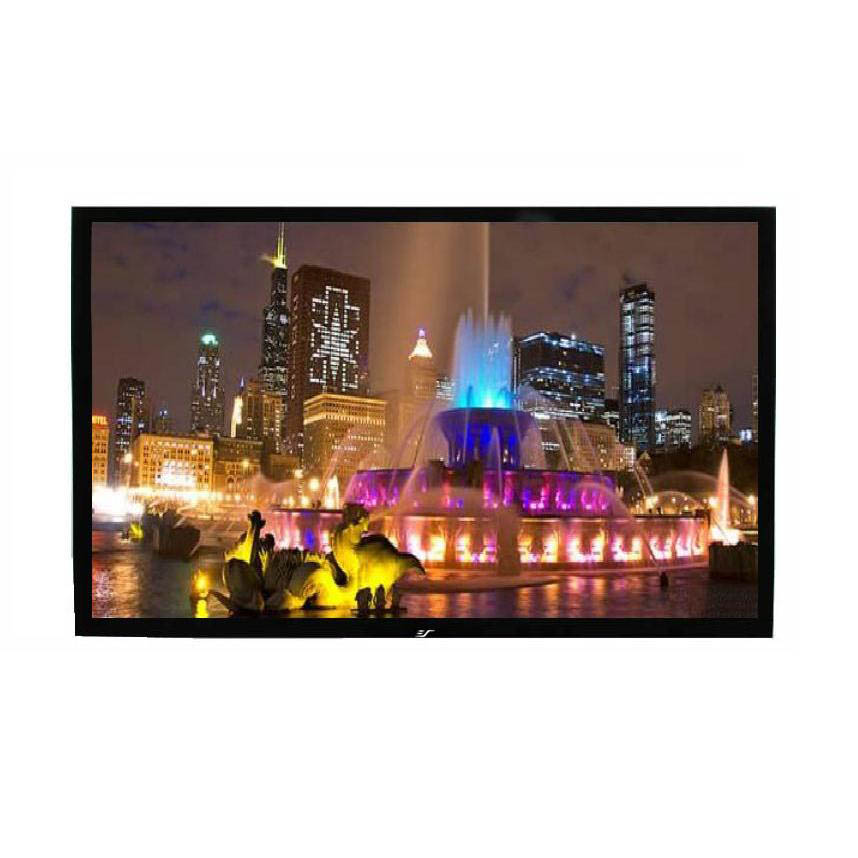 "ezFrame Series 110"" Diag. (54x96) Fixed Frame Projector Screen, HDTV Format, Wraith Veil Fabric - R110RH1"