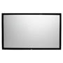 "SableFrame 2 Series 120"" Diag. (59x105) Fixed Frame Projector Screen, HDTV Format, CineWhite Fabric Elite Screens,ER120WH2,Fixed Frame Projector Screen,SableFrame 2,Wall-Mounted Projector Screen"