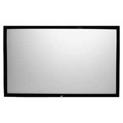 "SableFrame 2 Series 100"" Diag. (49x87) Fixed Frame Projector Screen, HDTV Format, CineWhite Fabric Elite Screens,ER100WH2,Fixed Frame Projector Screen,SableFrame 2,Wall-Mounted Projector Screen"