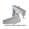 "12"" Extended ""L"" Bracket Set for VMAX/Manual/Spectrum Series - White"