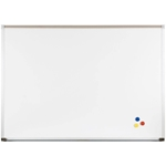 Best-Rite 202AC Porcelain Steel Whiteboard with Deluxe Aluminum Trim