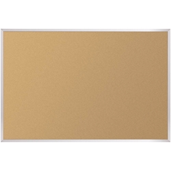 Best-Rite 303AH Natural Cork-Plate Tackboard with Aluminum Trim