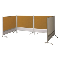 Best-Rite 661AG-HH DOC Mobile Room Partition & Display Panel